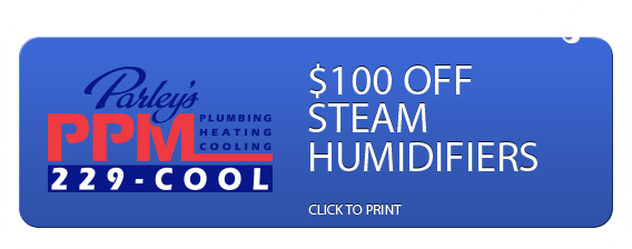 Steam Humidifiers Coupon